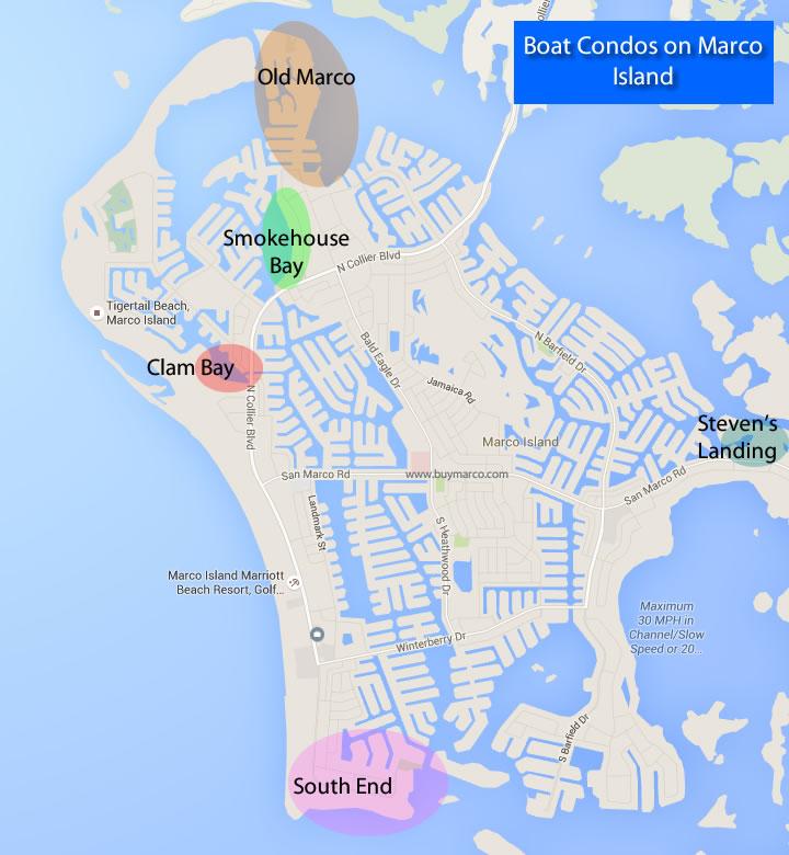 Marco Island Map Florida Marco Island Fl