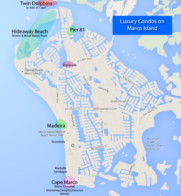 Luxury Condo Map