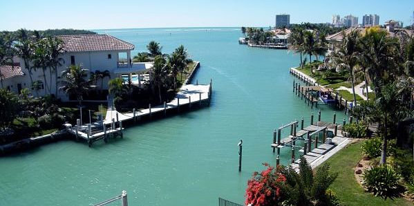 Marco Island Water Direct Homes