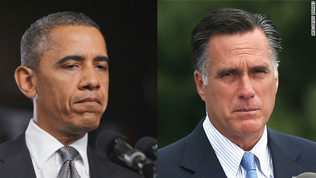 Obama and Romney Photo